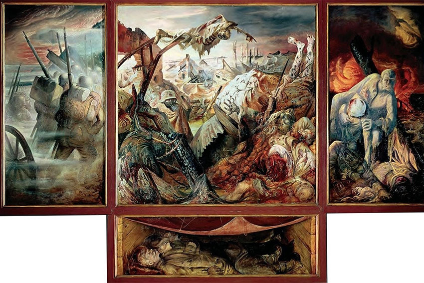Otta Dix - La Guerre