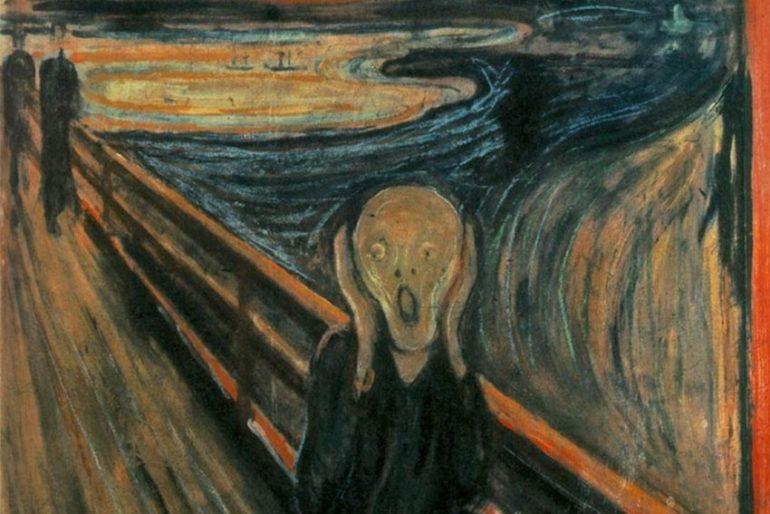 Edvard Munch Çığlık