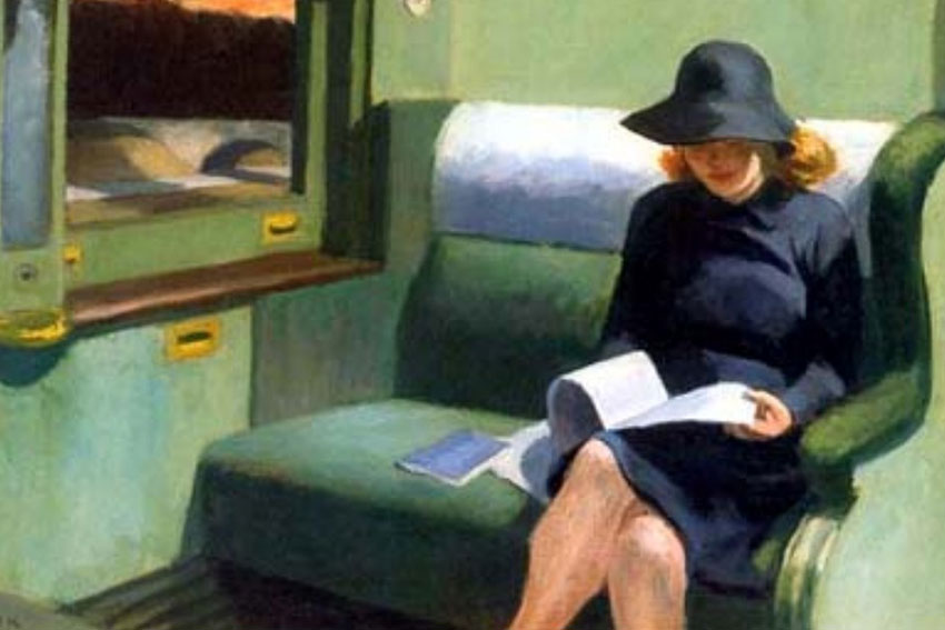 Edward Hopper Compartment C, Car 293