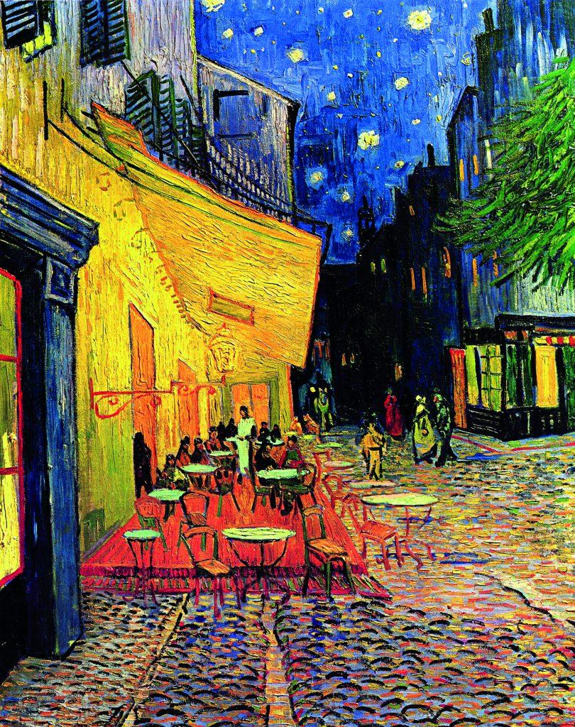 Vincent Van Gogh Kafe Teras